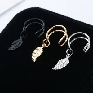 adjustable ear cuff clip fashion earnings